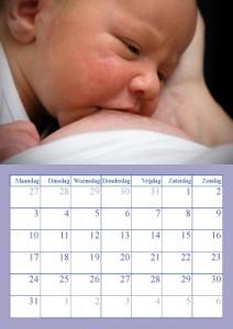 Kalenderblad